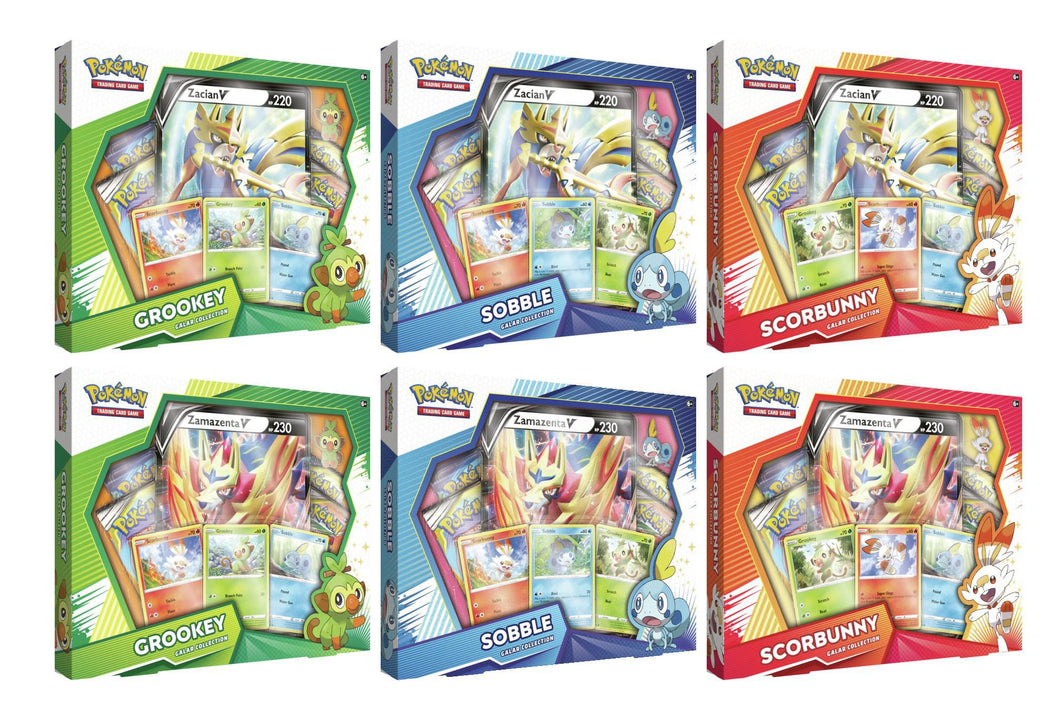 Pokemon Galar Collection box