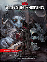 D&D Volos guide to Monsters Book