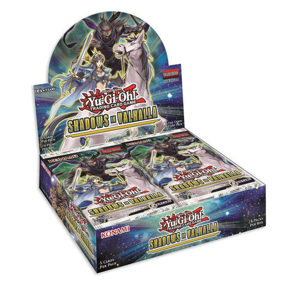 Yugioh Shadows of Valhalla booster pack