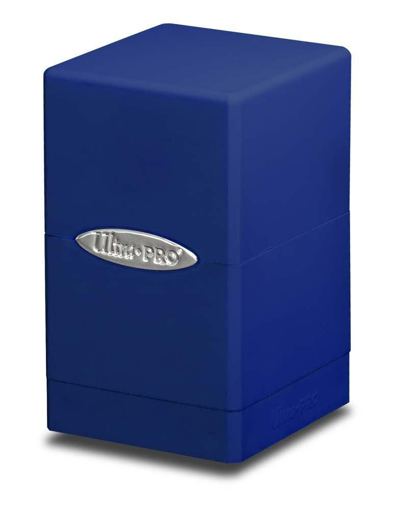 Ultimate Pro Satin Tower Deck Box Blue