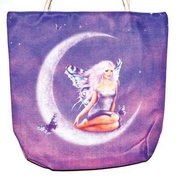 "14"" x 16"" Fairy jute tote bag"