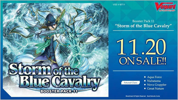 Vanguard Storm of the Blue Calvary Booster Box