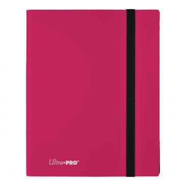 Ultra Pro PRO Binder 9-Pocket Eclipse Hot Pink