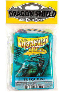 Dragon Shield 50ct Mini Card Sleeves Turquoise