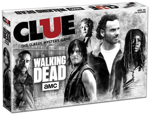 Walking Dead Clue Game