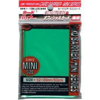 KMC Mini 50 ct Green Sleeves
