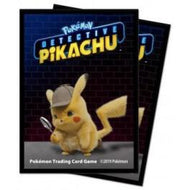 Ultra Pro Sleeves Pokemon Detective Pikachu- Pikachu 65-Count