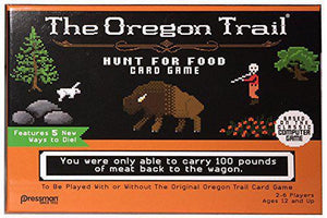 The Oregon Trail Hunt for Food Board Game