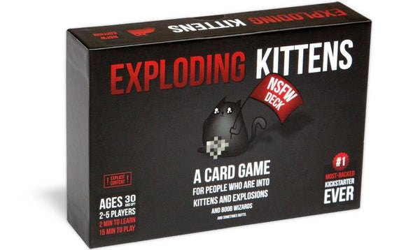 Exploding Kittens Adult Version