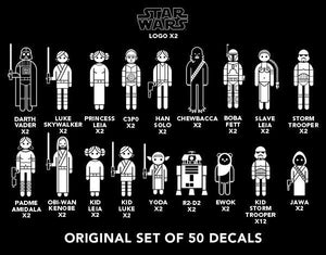 Star Wars Scum & Villainy Decal Pack
