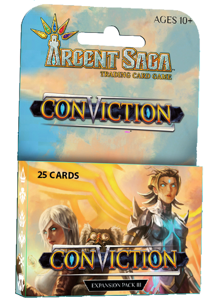 Argent Saga TCG: Conviction Expansion Pack 3