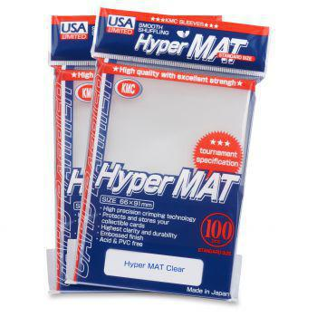 KMC Hyper Mat Clear 100ct pack