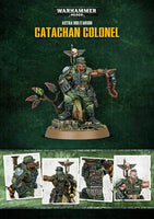 Citadel Warhammer 40K Catachan Colonel Store Anniversary Model