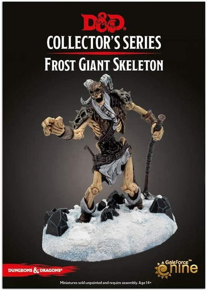 D&D Adventure: Icewind Dale: Rime of The Frostmaiden: Frost Giant Skeleton