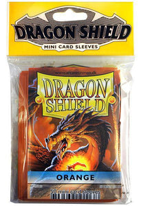 Dragon Shield 50ct Orange Mini Sleeves