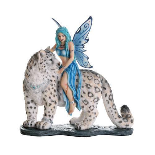 Hima Fairy with Snow Leopard