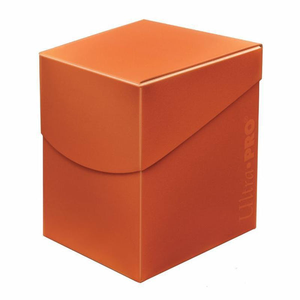 Ultra Pro 100ct Pumpkin Orange Deck Box