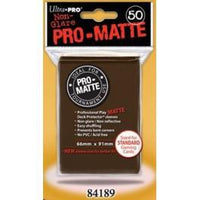 Pro Matte Brown 50ct Sleeves