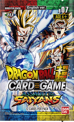DBS Assault of the Saiyans Booster Box