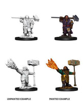 D&D Nolzur's Marvelous Miniatures Wave 11 Male Dwarf Cleric