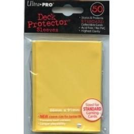 Ultra Pro Yellow 50ct Sleeves
