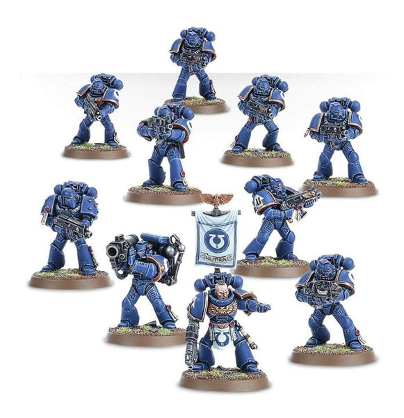 Warhammer 40K Space Marine Tactical Squad