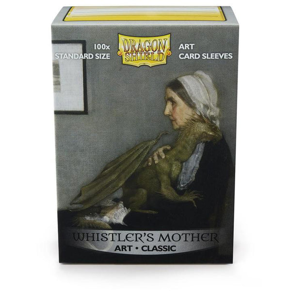 Dragon Shield Classic Art 100 ct Whistler's Mother