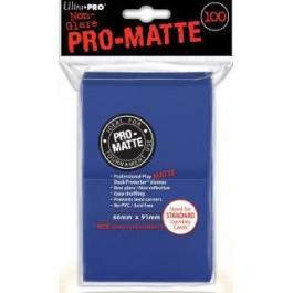 Pro Matte Blue 100ct Sleeves