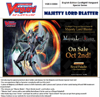 Vanguard Special Series Majesty Lord Blaster
