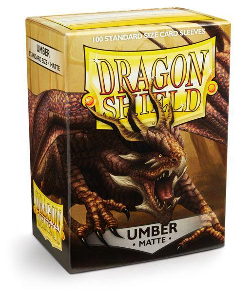 Dragon Shield Umber Matte 100 ct sleeve pack