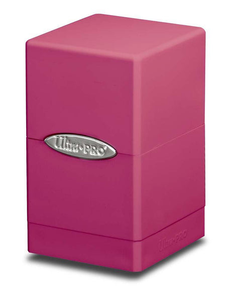 Ultra Pro Satin Tower Deck Box Hot Pink