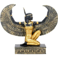 Maat Black and Gold Statue