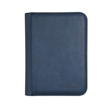Ultra Pro PRO Binder 4-Pocket Zippered Suede Sapphire