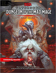 D&D Waterdeep Dungeon of the Mad Mage Map