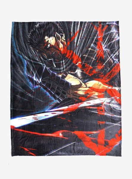 Berserk Key Art Plush Throw Blanket