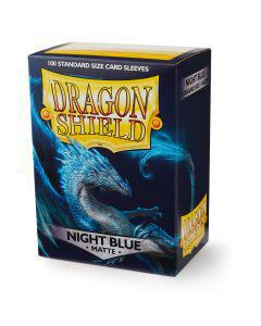 Dragon Shield Matte Night Blue 100ct Sleeves
