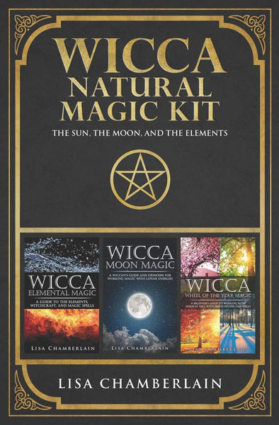 Wicca Natural Magic Kit by Lisa Chamberlain