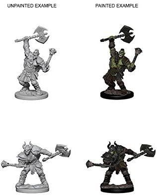 Pathfinder Deep Cuts Unpainted Miniatures: Wave 3: Half-Orc Male Barbarian