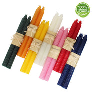 Beeswax 8.5 inch taper candles