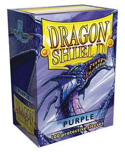 Dragon Shield 100ct STD Sleeve Box Classic Purple