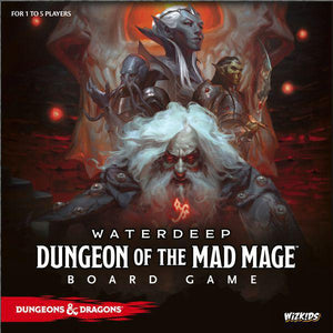 D&D Waterdeep Dungeon of the Mad Mage Board Game