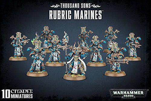 Warhammer 40K Thousand Sons Rubric Marines