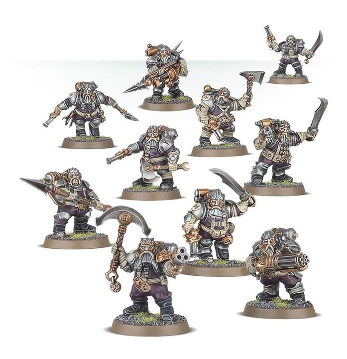 Warhammer Age Of Sigmar Kharadron Overlords Arkanaut Company