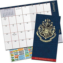 Load image into Gallery viewer, 2019 Hogwarts Pocket Calendar