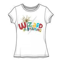 Wizard in training white Jr Tee