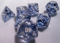 Chessex 7 die set Nebula Black/White