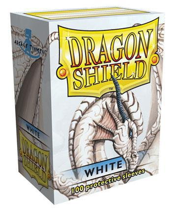 Dragon Shield 100ct STD Sleeve Box Classic White