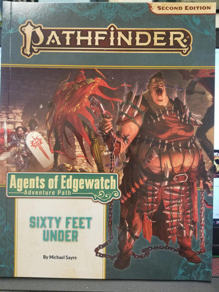 Pathfinder Agents of Edgewatch Sixty Feet Under