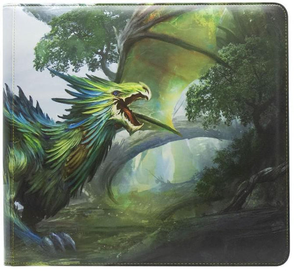 Dragon Shield Card Codex Zipster XL Olive Binder