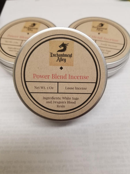 Enchantment Alley Power Blend Incense 2 oz tin